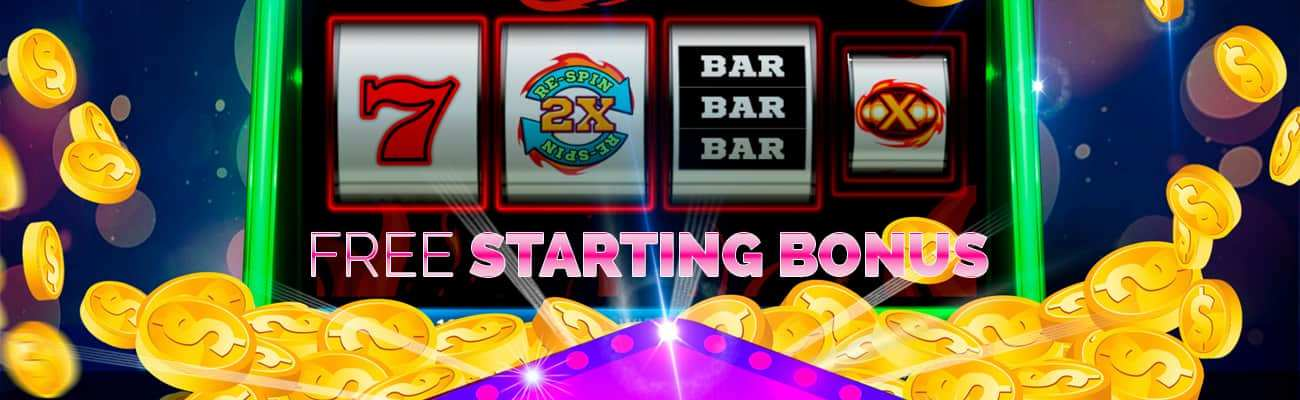 free starting bonus for online slots