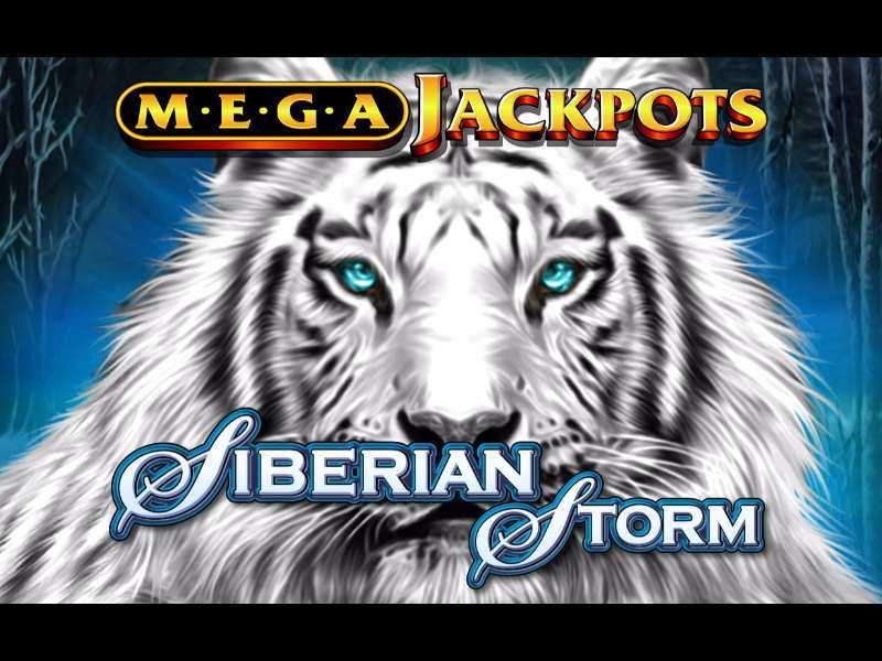 Siberian Storm Mega Jackpots