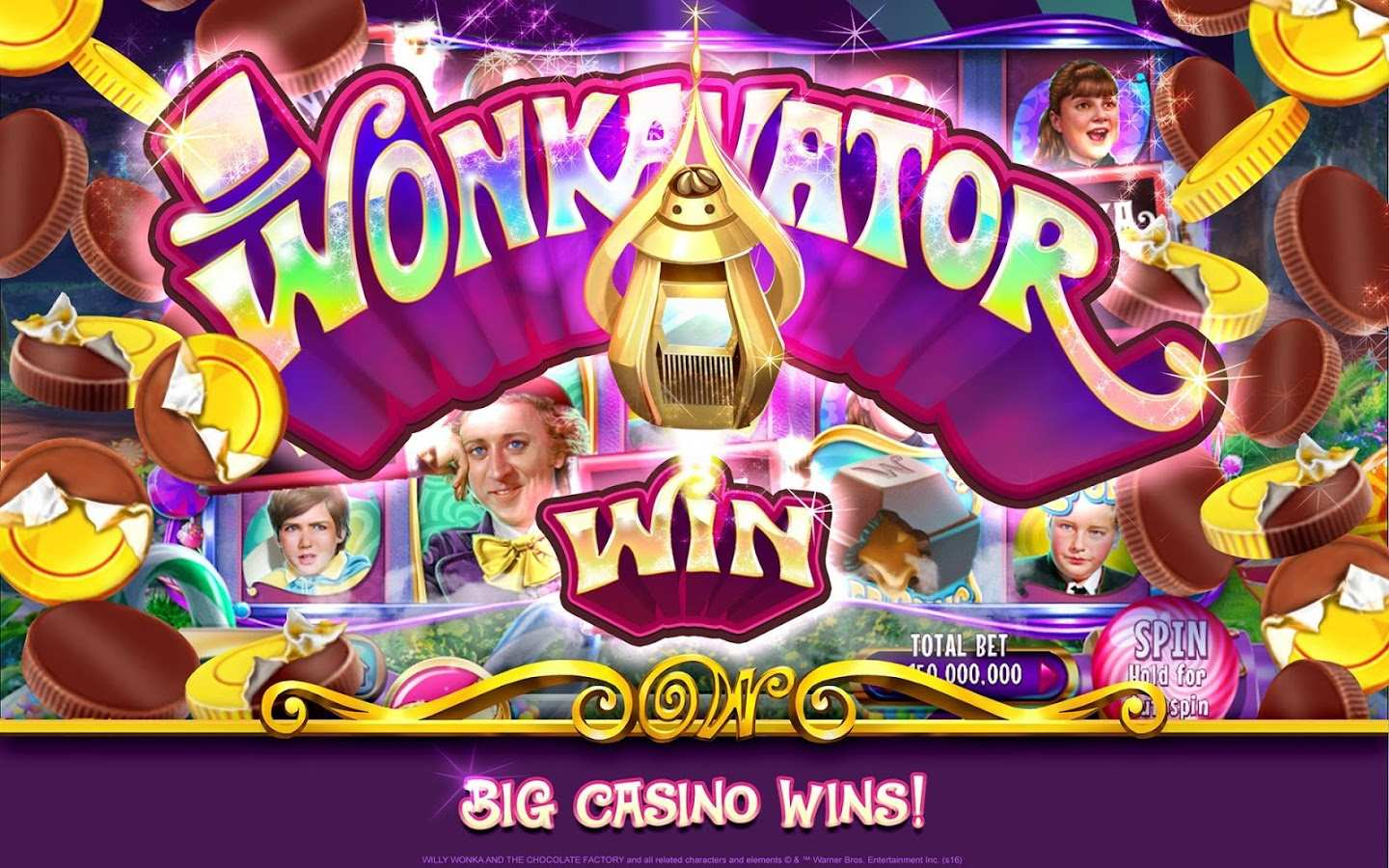 Willy Wonka and the Chocolate Factory Slot