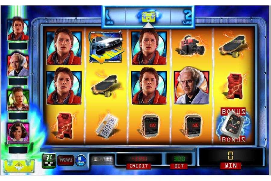 Back to the Future Slot