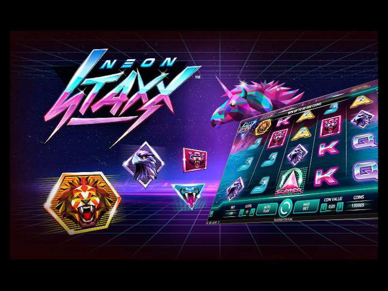 Play Neon Staxx Slot